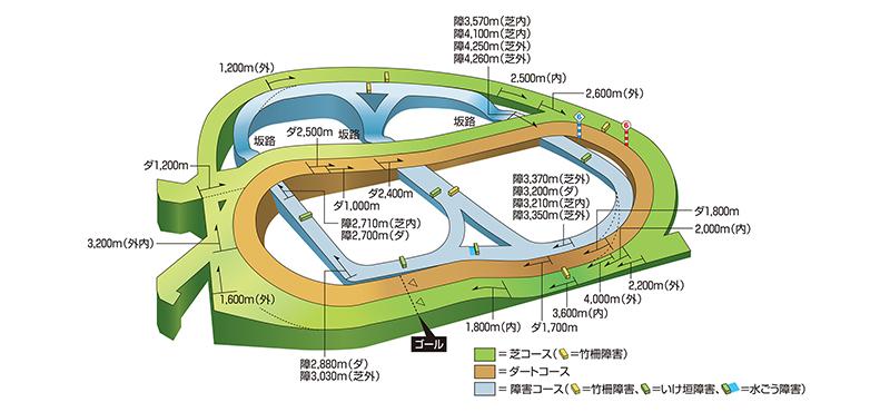 JRA公式サイト(中山競馬場)